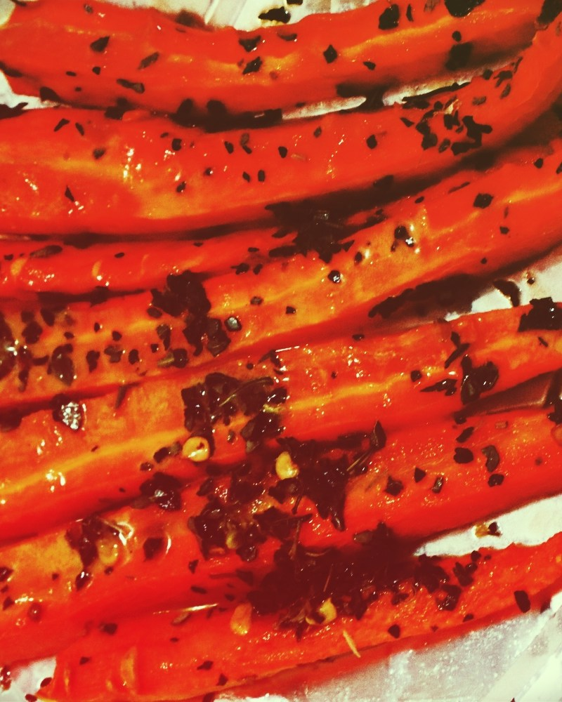 Delicious Oven Roasted Carrots