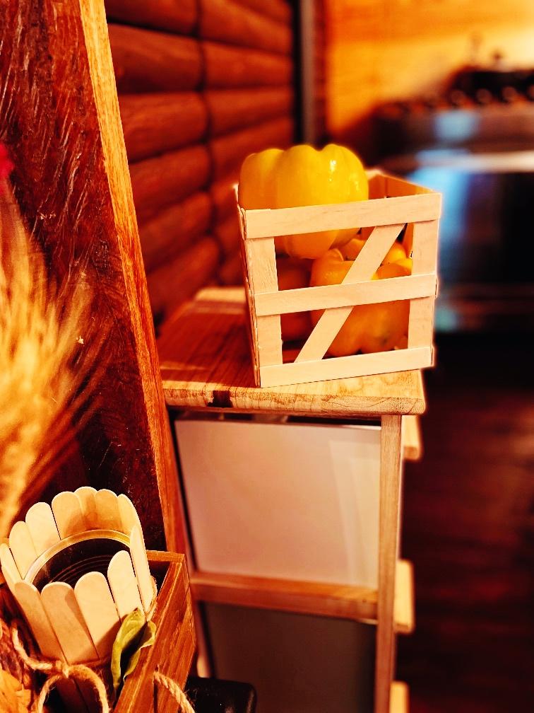 Farmhouse Popsicle Stick Produce Crate