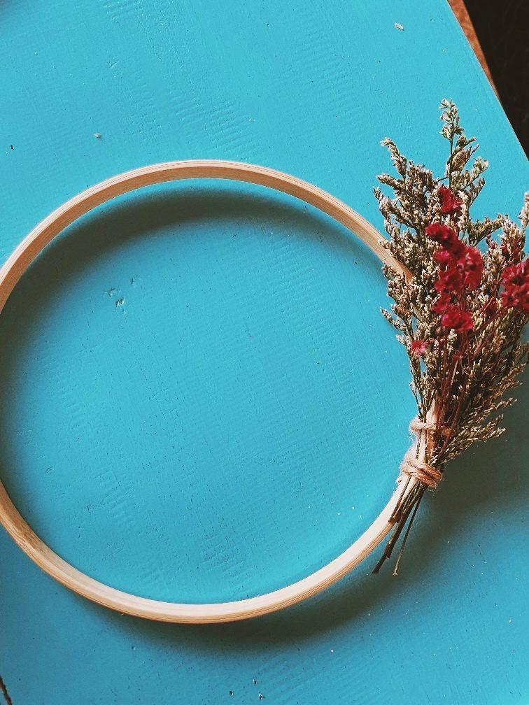Quick Diy Hoop Wreath