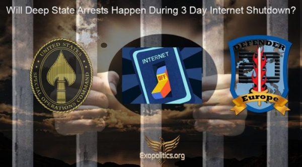 Майкл Салла - Будут ли происходить аресты Глубинного Государства  во время трёхдневного отключения интернета?  Deep-State-arrests-after-3-day-internet-shutdown-1-6c7648c9-700x388