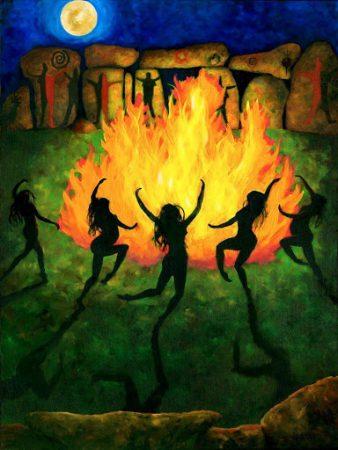 Медитация Фиолетового Пламени для балансировки энергии в течение периода Белтейн Beltanefire-338x450
