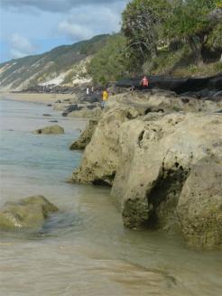 Mudlo Rocks after high tide