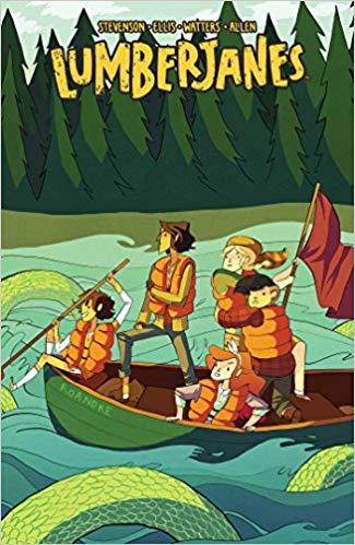Lumberjanes Vol. 3: A Terrible Plan Book Cover