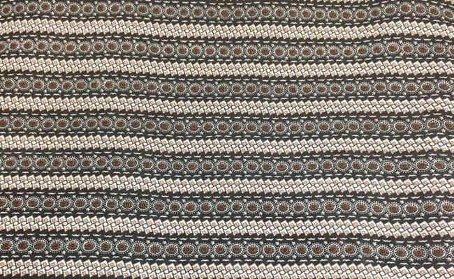 Viskose brune striper
