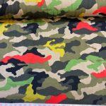 Camouflage bomullsjersey