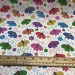 Polycotton sommerfugler