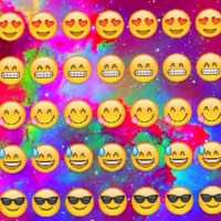 Emoji Rainbow Background! 😍😁 {#emoji #background #textures #edits #rainbow #galaxy #rainbow #cute}