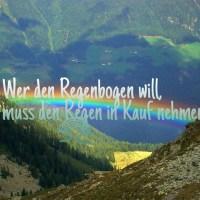 😍 ~Das Schicksal ist ein mieser Verräter #Das#Schickal#ist#ein#mieser#Verräter#Regen#Regenbogen#Sprüche#Love