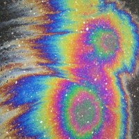These are soooo cool! #oilspill #rainbow #slick #oilspills #oil #tumblr #texture
