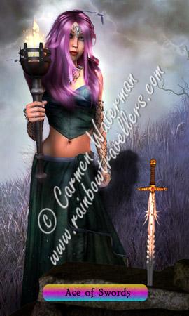 © 2015 Carmen Waterman - Ace of Swords