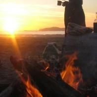 Fireside on Rainbow Heirloom Lush DK