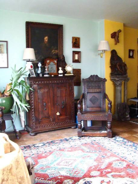 Bayard Rustin's Apartment. Courtesy Walter Naegle.