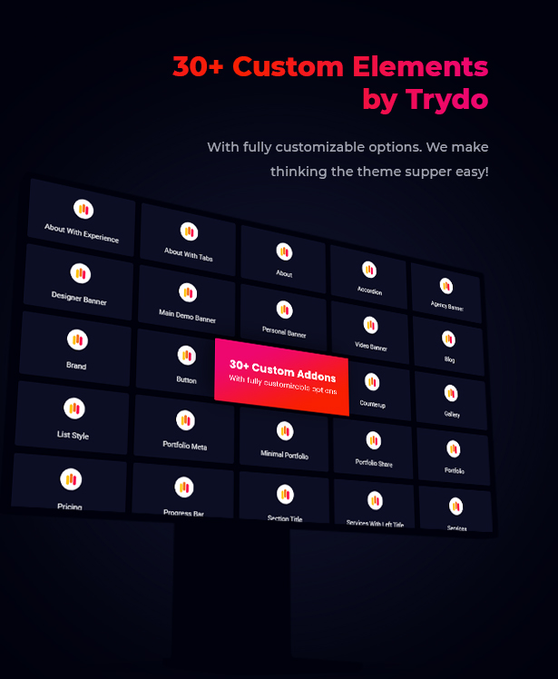 Trydo - Creative Agency & Portfolio WordPress Theme - 13