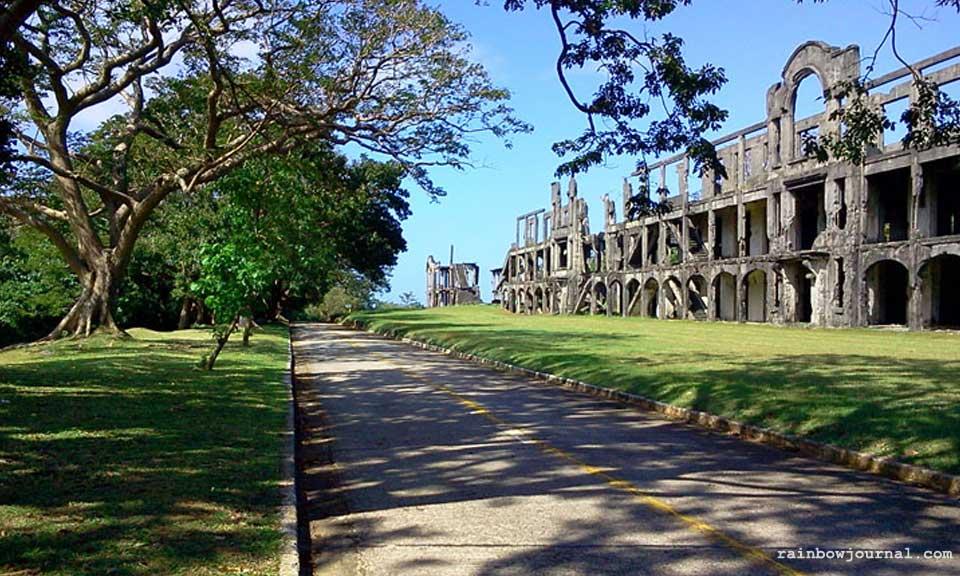 Corregidor Island's iconic ruins