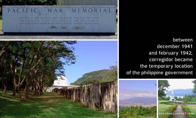 Pacific War Memorial and other sights at Corregidor Island