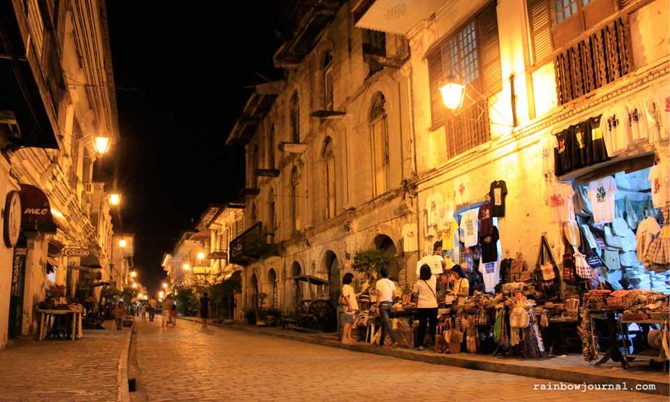Vigan's iconic Calle Crisologo