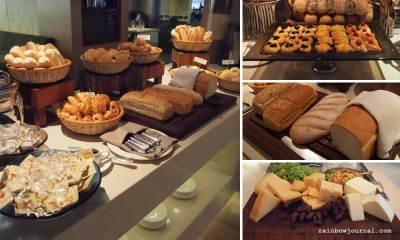 Bread station at Midas Café Buffet at Midas Hotel and Casino