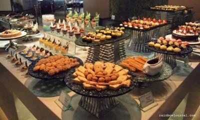 Dessert station at Midas Café Buffet at Midas Hotel and Casino