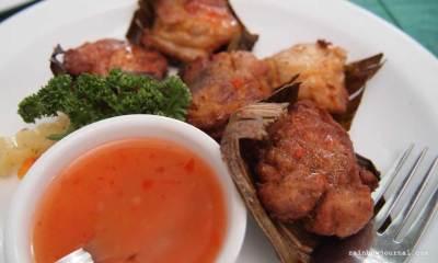 Cafe Juanita's Pandan Chicken