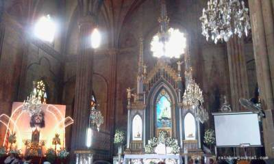 Basilica Minore de San Sebastián, better known as San Sebastian Church