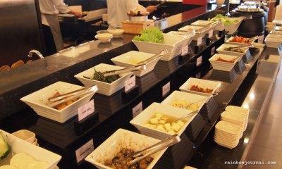 Sambo Kojin's salad bar