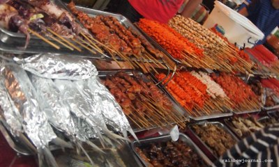 Food choices at Fiesta Bahia at SM Mall of Asia (MOA)