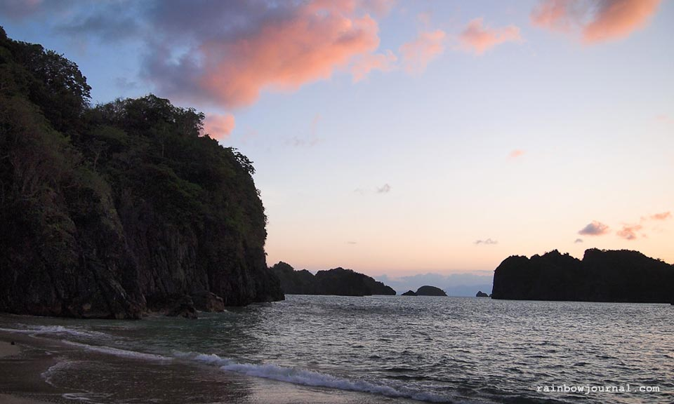 Caramoan sunrise