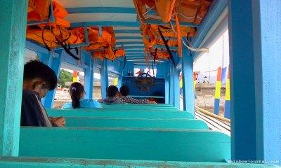 On board MV Harry at Guijalo port, Caramoan