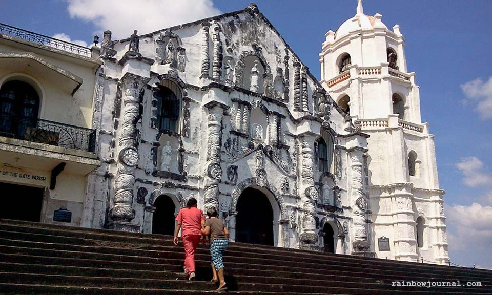 Daraga church near Legazpi City, Albay
