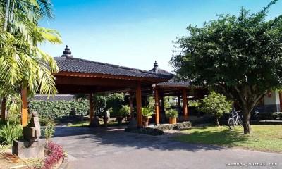 Manohara Hotel near Borobudur temple in Indonesia