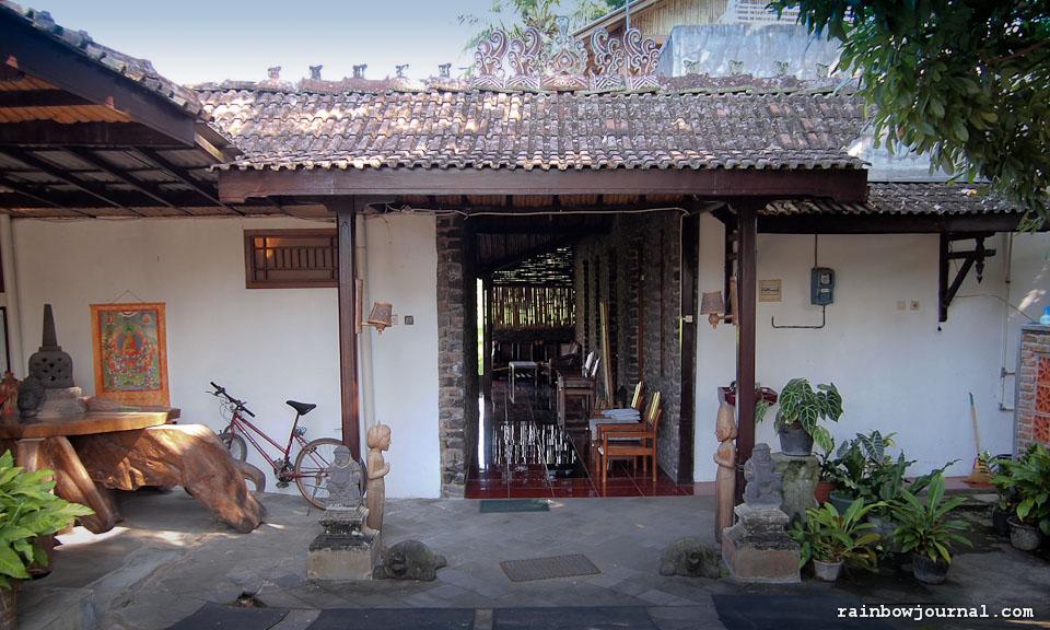 Rajasa Hotel near Borobudur temple in Indonesia