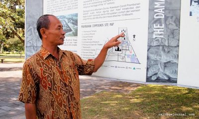 Guided tour at Prambanan temples Indonesia