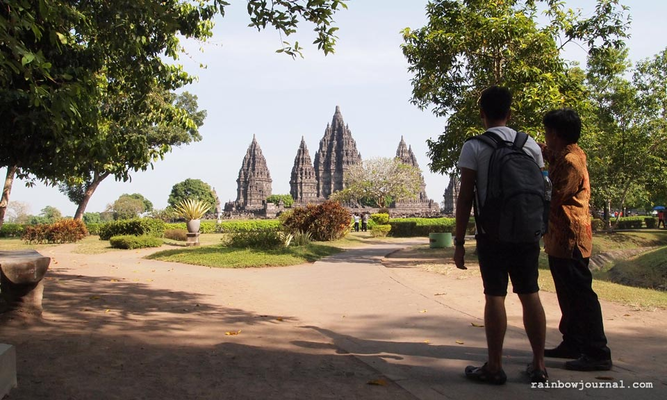 Guided tour at Prambanan temples Indonesia