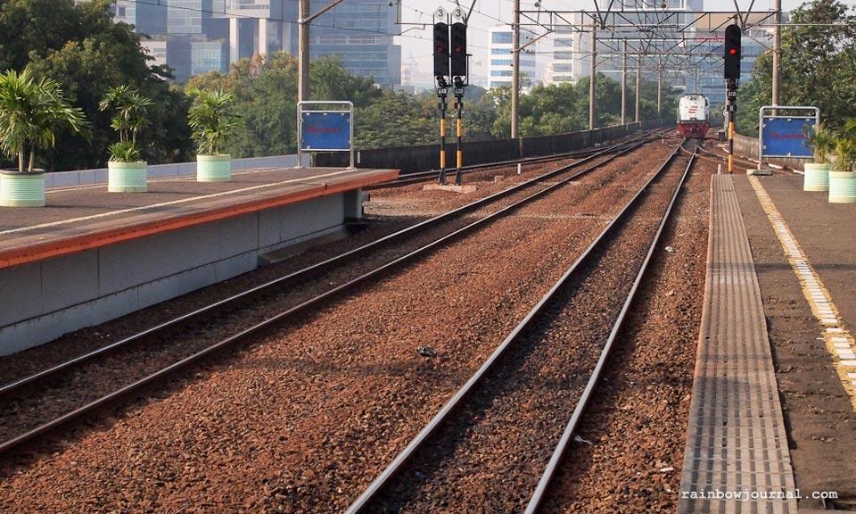 Gambir Station Jakarta, train from Jakarta to Yogyakarta