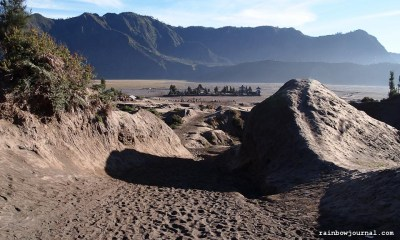 Temple at the Sea of Sands, Mt. Bromo Sunrise Tour, Indonesia