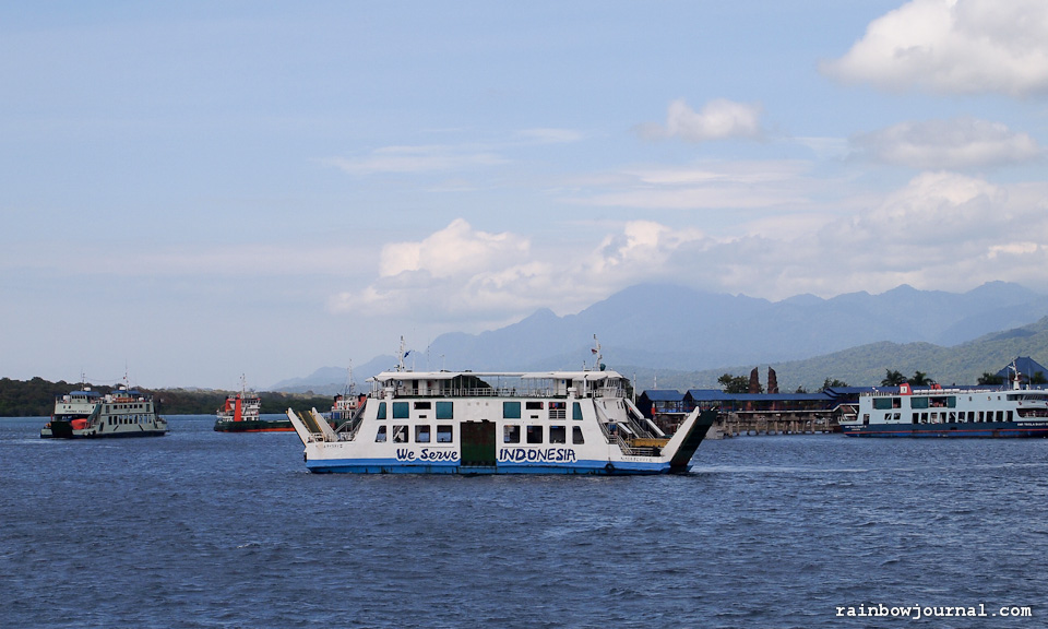Jakarta to Bali without flying