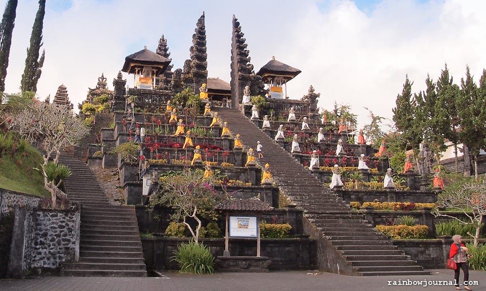 Mother Temple Basakih in Bali, Indonesia