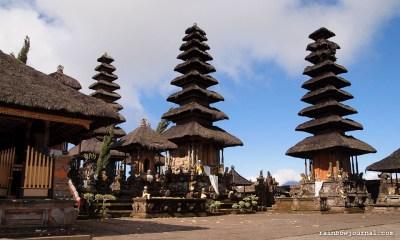 Pura Ulun Danu Batur in Bali, Indonesia