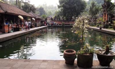 Tirta Empul is built around natural hot springs.