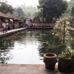 Tirta Empul is built around natural hot springs.