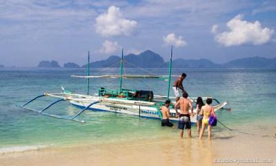 El Nido Palawan Island Hopping Tour A - Seven Commandos Beach