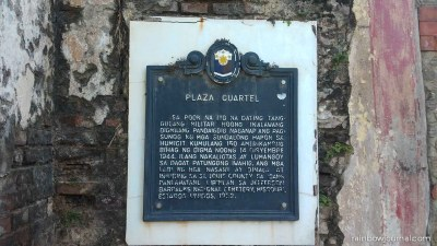 Puerto Princesa DIY City Tour - Plaza Cuartel