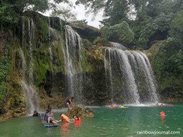 Life vests are available at Bolina Falls 1 for those who cannot swim