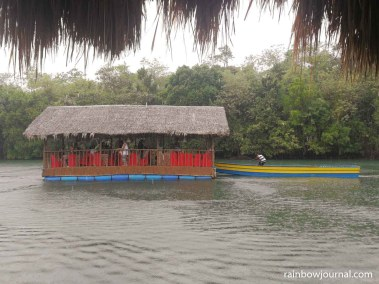 One of the cottages going on a river cruise at Sungayan Grill, Bolinao