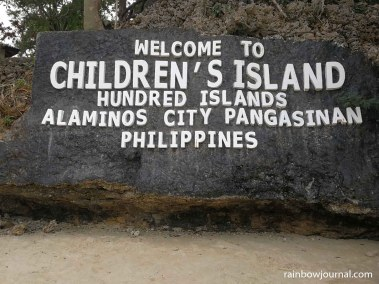 Children's Island, Hundred Islands National Park