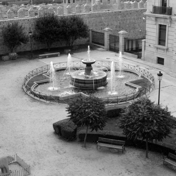 Fountain in Avila