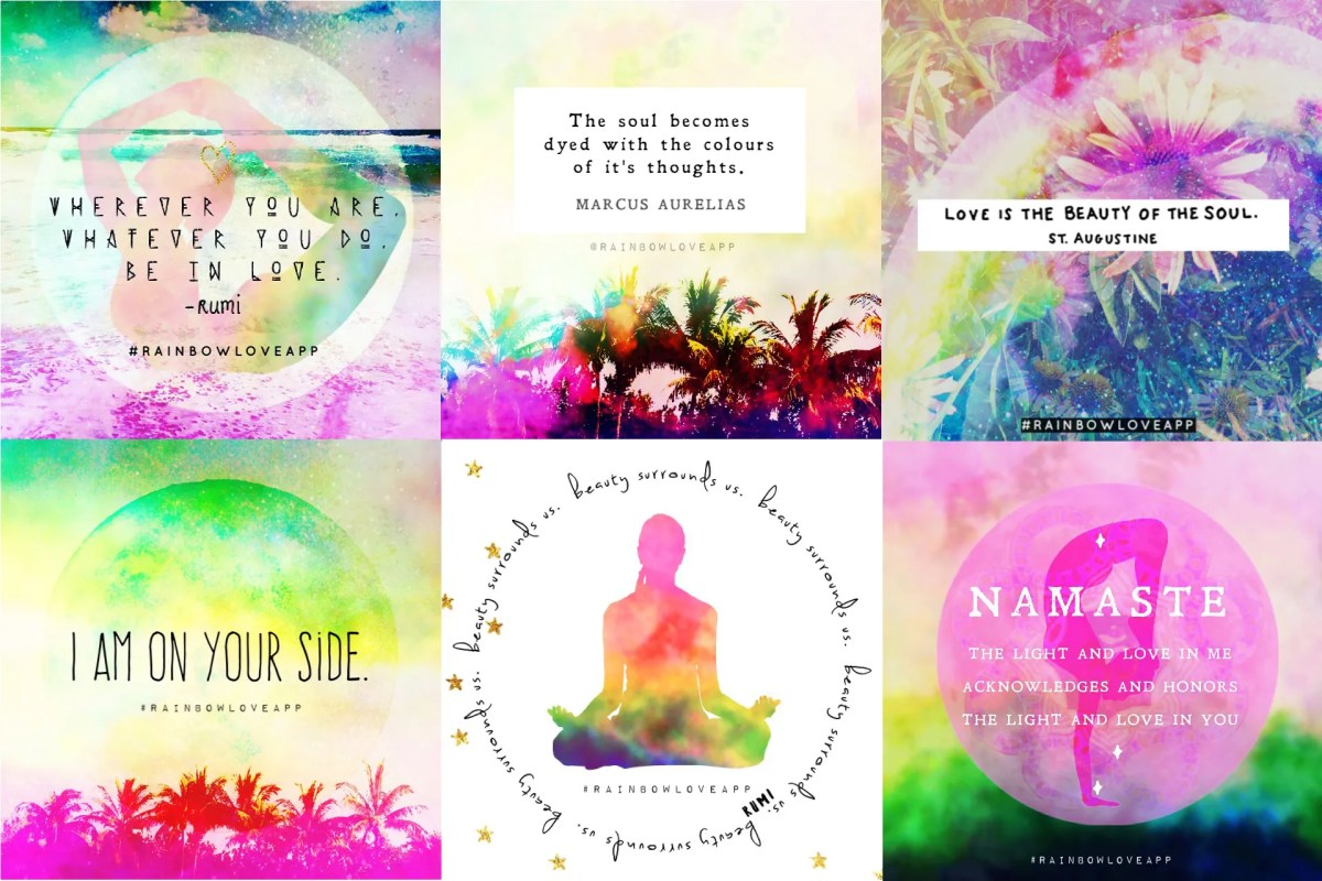 rainbow-love-app-blog-yoga-quotes-rumi-quote-cards-photography-asana-quotes-inspirational-photo-cards