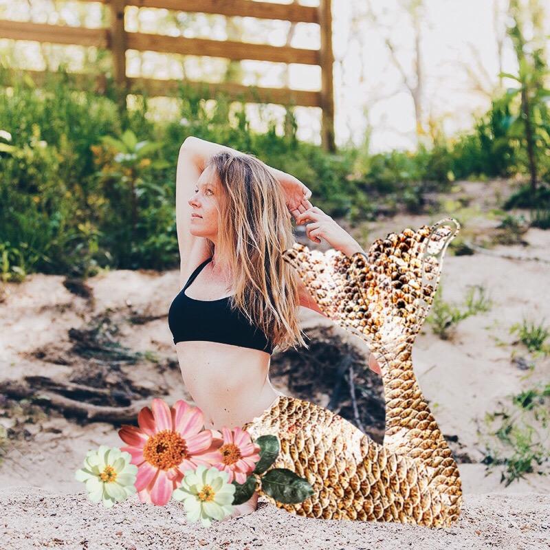 mermaid pose mermaid tail for photos