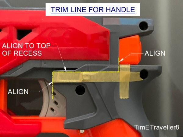 Traveller Shell cut instruction