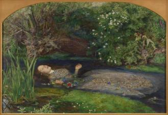 Ophelia, 1851, by Sir John Everett Millais